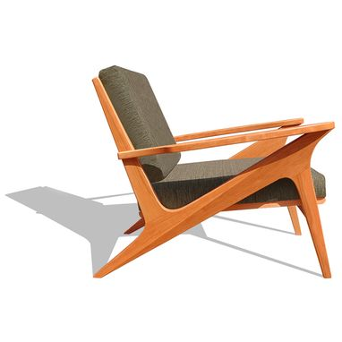 Custom Made Modern Lounge Chair | Z Lounger