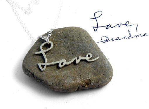 Custom Made Personalized Handwriting Necklace
