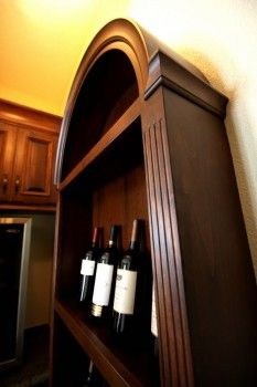 Custom Made Wine Cabinet