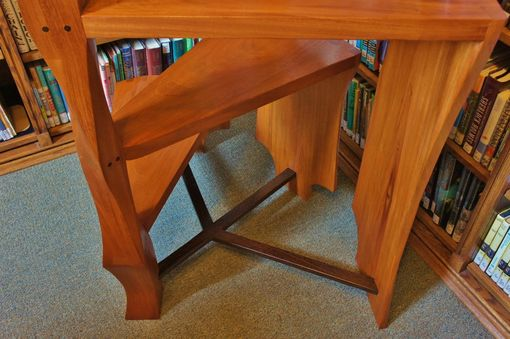Custom Made Spiral Library Ladder/Step Stool