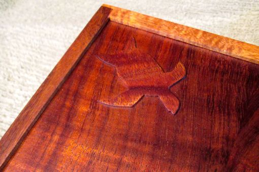 Custom Made Koa Box With Sea Turtle