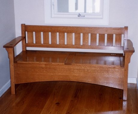 Custom Made Arts & Crafts Bench