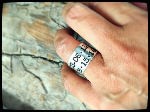 Custom Made Sterling Silver Statement Ring