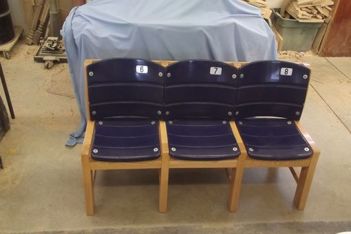 Custom Made Metropolitan Sports Center 3 Seat Rec. Room Bench