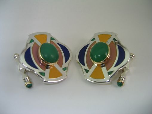 Custom Made Geo Series Cufflinks