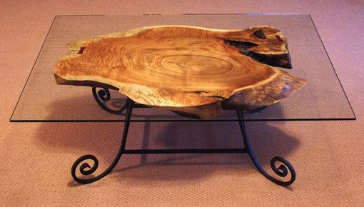 Custom Made Cork Oak Coffe Table