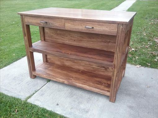 Custom Made Rustic Kitchen Island