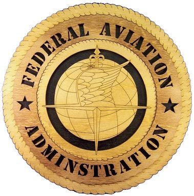 Custom Made Federal A Viation Adminstration Wall Tribute, Federal A Viation Adminstration Hand Made Gift