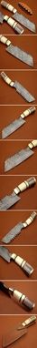 Custom Made Damascus Chef Knife