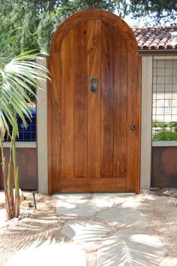 Custom Made Teak Entry Door