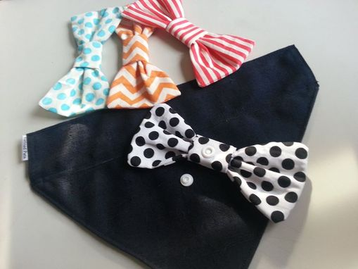 Custom Made 5 Piece K-9 Bow Tie Bandana Set