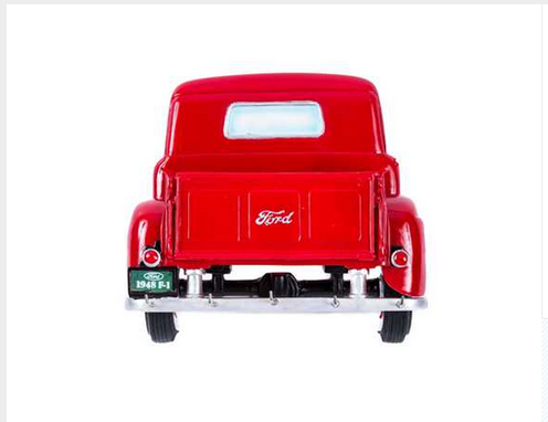 Custom Made Red Resin 1948 Ford Truck Key Rack