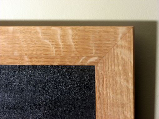 Custom Made White Oak Picture Frame