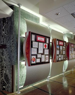 Custom Made Corporate Communication Boards • Target Corporation - Guest Credit Center; Minneapolis, Mn, Usa