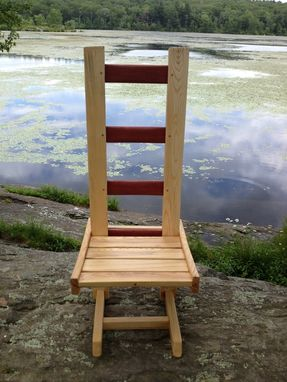 Custom Made Crate And Ladder Chair