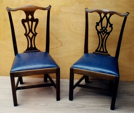Custom Made Chippendale Side Chairs