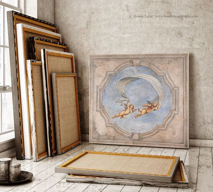 Custom Made Renaissance Cherubs Mural