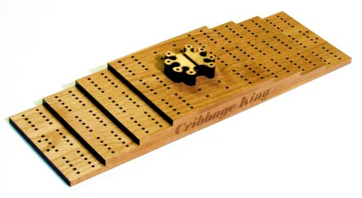 Custom Made Custom Cribbage Board With Laser Engraving