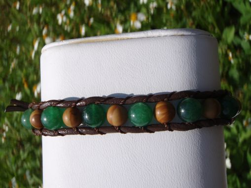 Custom Made Custom Wrap Gemstone Bracelets
