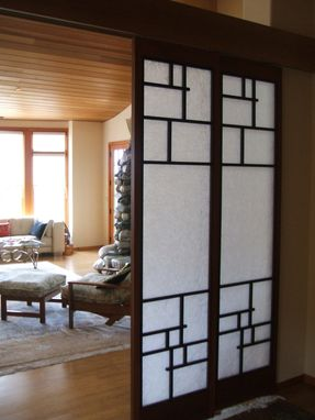 Custom Made Shoji Screen Doors