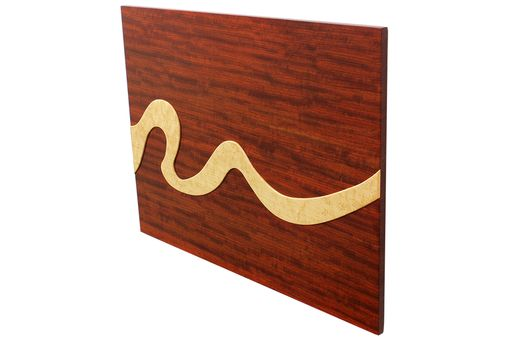 Custom Made Wave Of Life Floating Wall Panel
