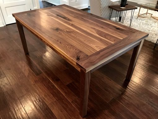 Custom Made Walnut Dining Table