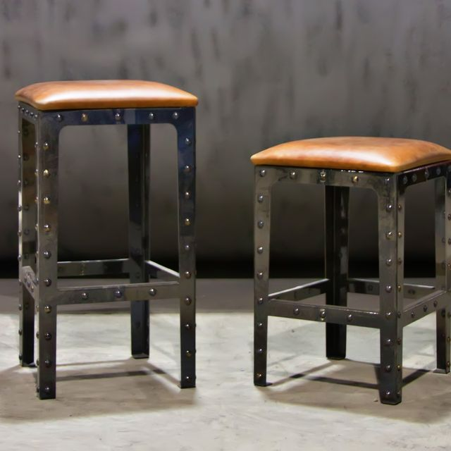 Hand Made Pub Height Table Bar Stools By Basin Custom Custommade