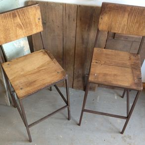 Reclaimed Wood Bar Stools Barnwood Barstools