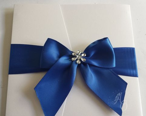 Custom Made Handmade Wedding Invitations
