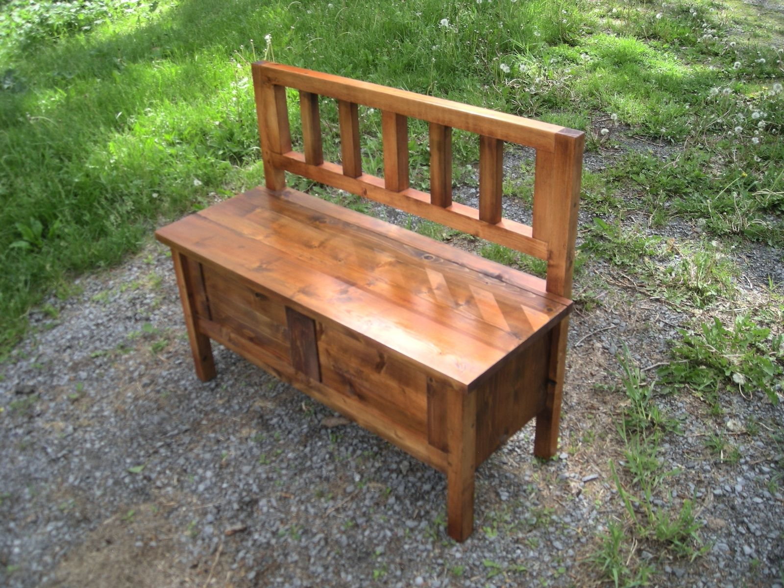 Hand Made Colonial Deacon S Bench By Sand Field Furniture