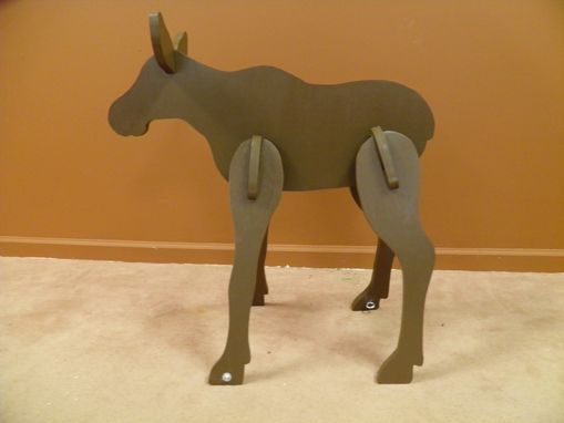 Custom Made Small Lawn Moose