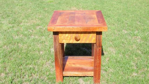 Custom Made Barnwood Night Stands - End Tables