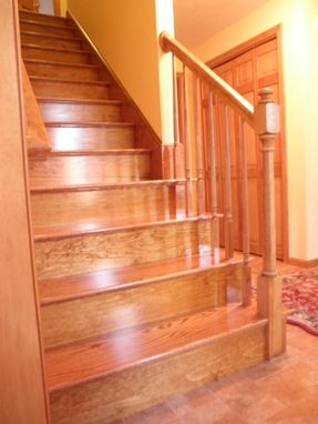 Custom Made Red Oak Stairs