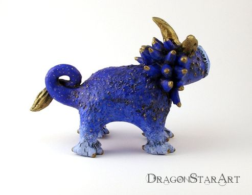 Custom Made Small Dragon Creature Sculpture
