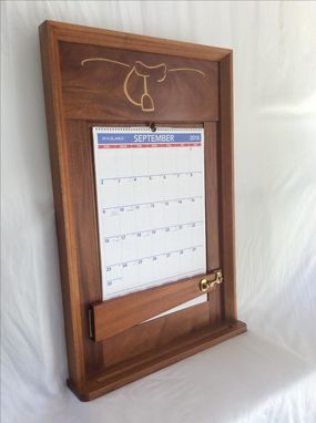 Custom Made Calendar Frame