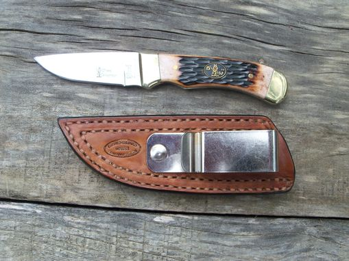 Custom Made Handmade Leather Knife Sheaths