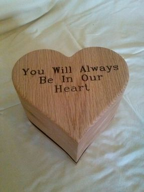 Custom Made Heart Shaped Cremation Urn
