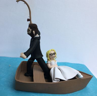 Custom Made Fishing Cake Topper