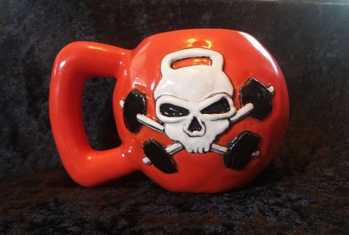 Custom Made Custom Kettlebell Coffee Mug