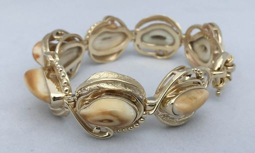 Custom Made Elk Tooth Bracelet