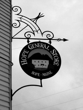 Custom Made General Store Sign Bracket
