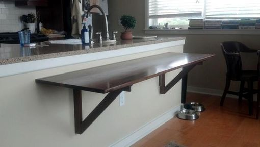 Custom Made Folding Dining Table