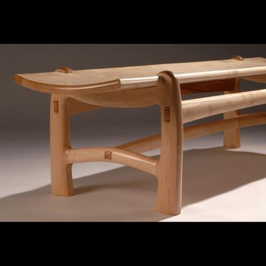 Custom Made Maple Bench 3