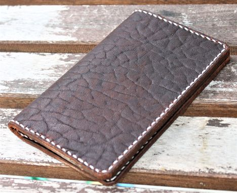 Custom Made Handmade Cover For Field Notes Card Wallet Scribo Ol' Red Folklore Bison