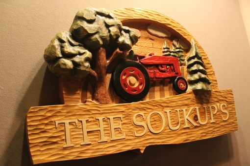 Custom Made Custom Farm Signs | Carved Wooden Signs | Tractor Signs | Home Signs | Cabin Signs | Cottage Signs