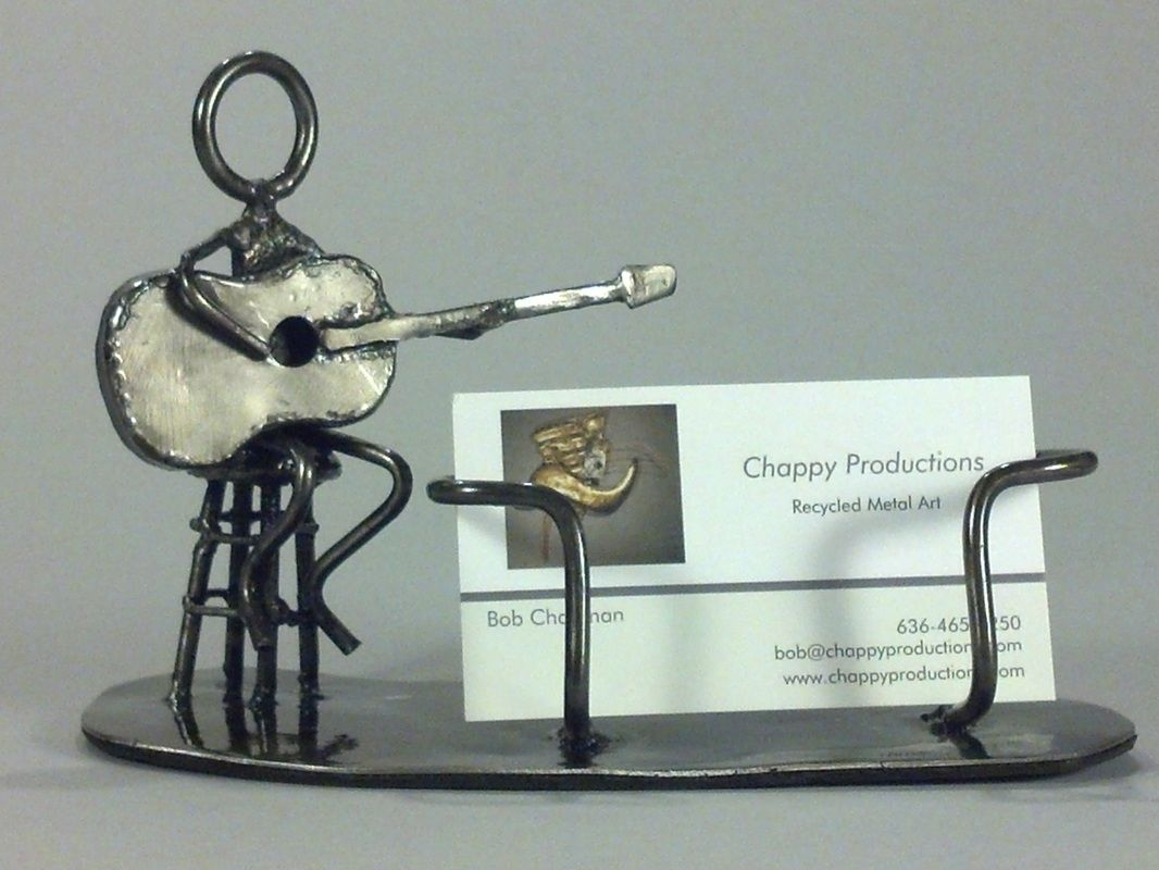 Handmade Custom Business Card Holder by Chappy Productions ...