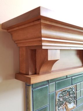 Custom Made Fireplace Mantel Victorian Craftsman Classic Traditional Design