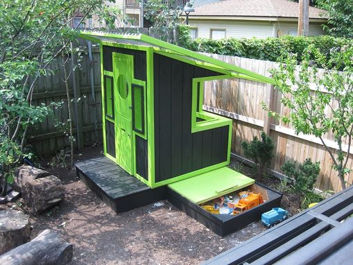 Custom Made Custom Designed/Built Modern Playhouse
