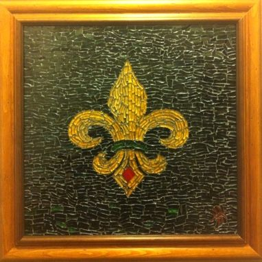 Custom Made Louisiana Flower