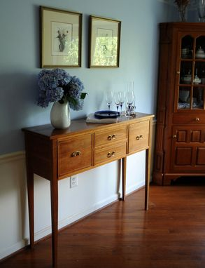 Custom Made Traditional Buffet Or Hall Table